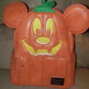 Loungefly Disney Pumpkin Backpack